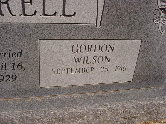 Gordon Wilson Kittrell