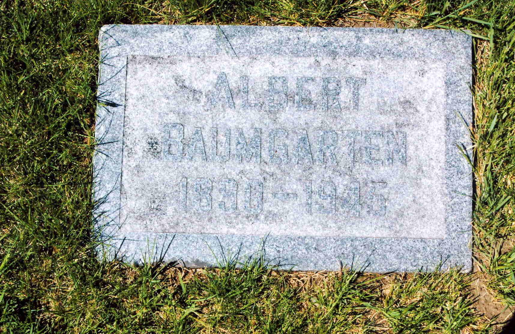 Carl Edward Albert Baumgarten