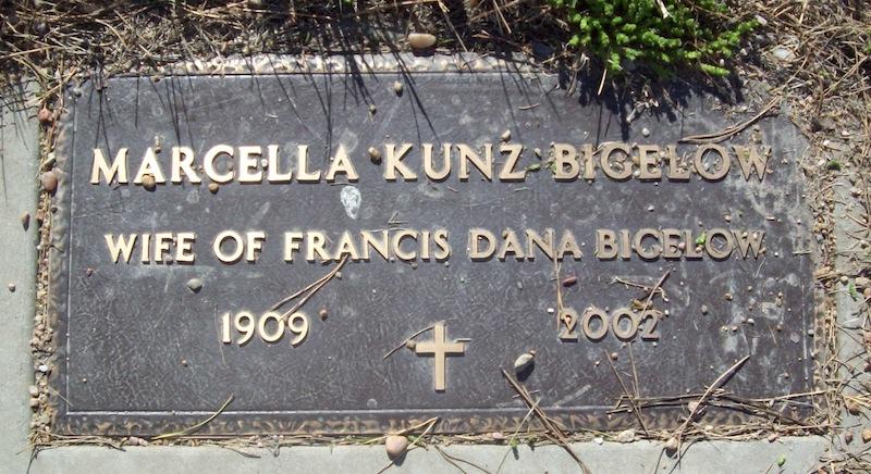 Marcella Margaret <i>Kunz</i> Bigelow