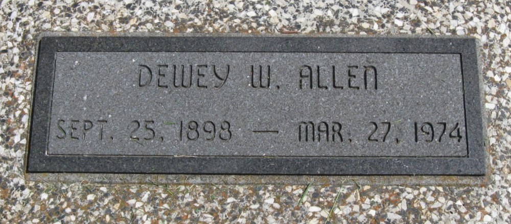 Dewey Worth Allen