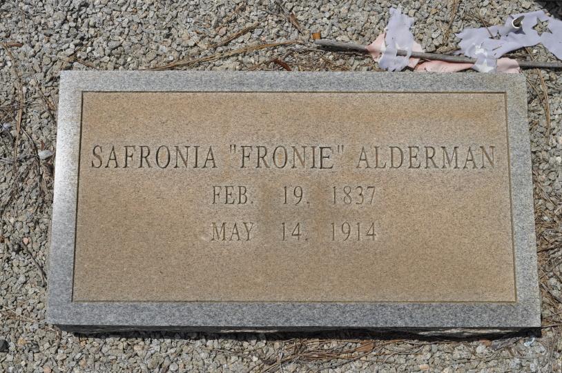 Safronia Fronie Alderman