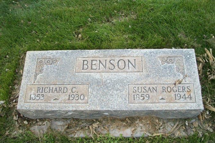 Susan <i>Rogers</i> Benson
