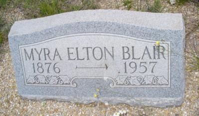 Myra Elton Blair