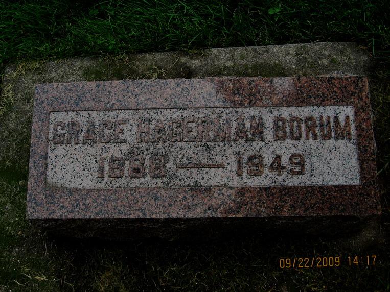 Grace <i>Hagerman</i> Borum