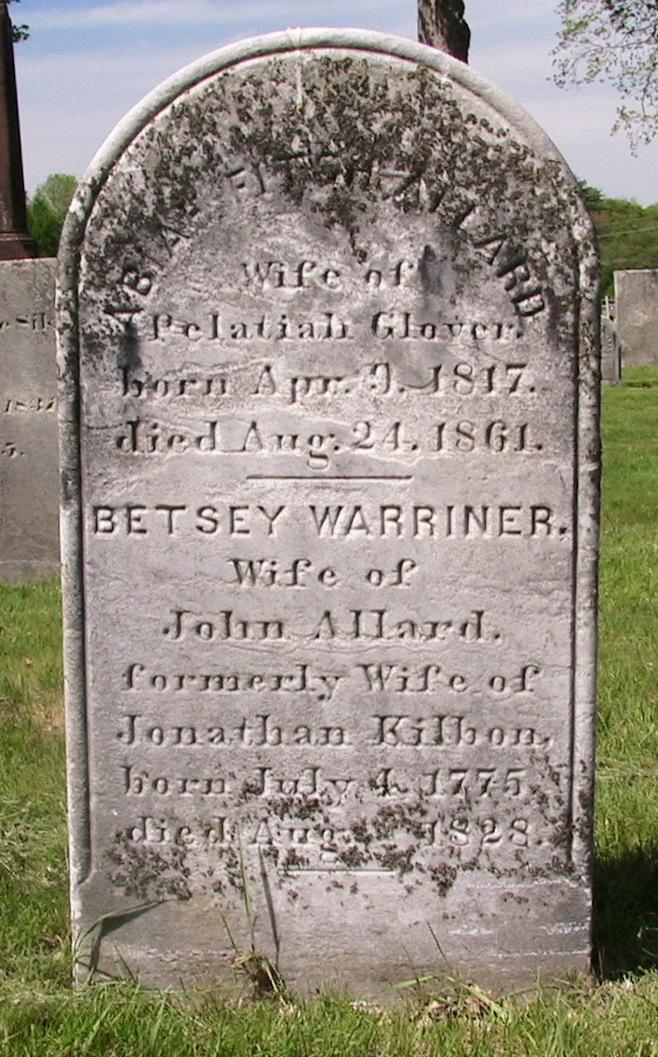 Betsey <i>Warriner</i> Allard