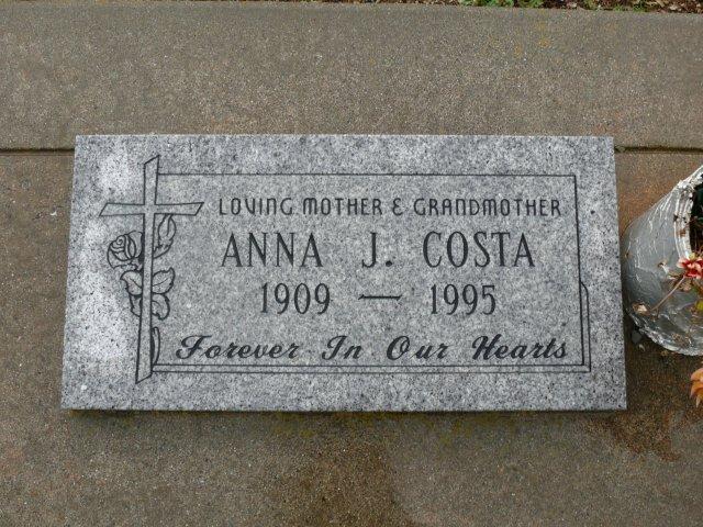 Anna J <i>Press</i> Costa