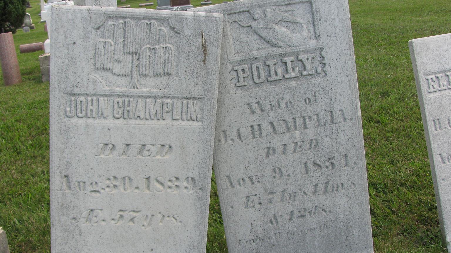 Mary Polly <i>Brooks</i> Champlin