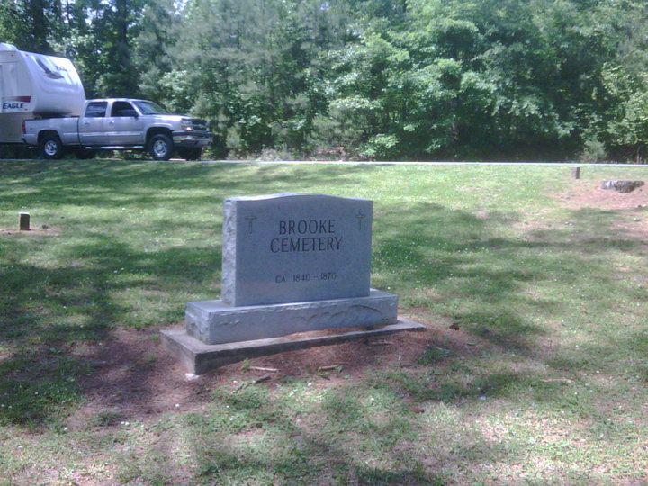 Brooke Family Cemetery (Defunct) in South Canton, Georgia