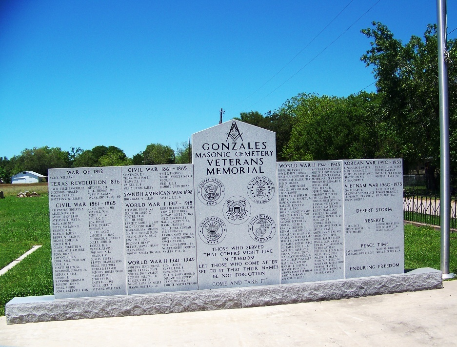 Gonzales Masonic Cemetery
