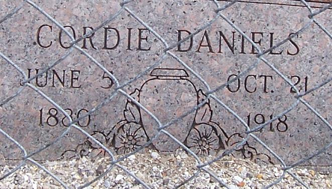Cordellia Cordie <i>Garner</i> Daniels