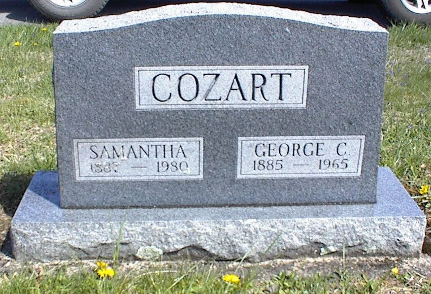Samantha Elvira <i>Shreve</i> Cozart