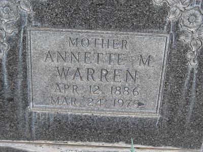 Annette M. Warren