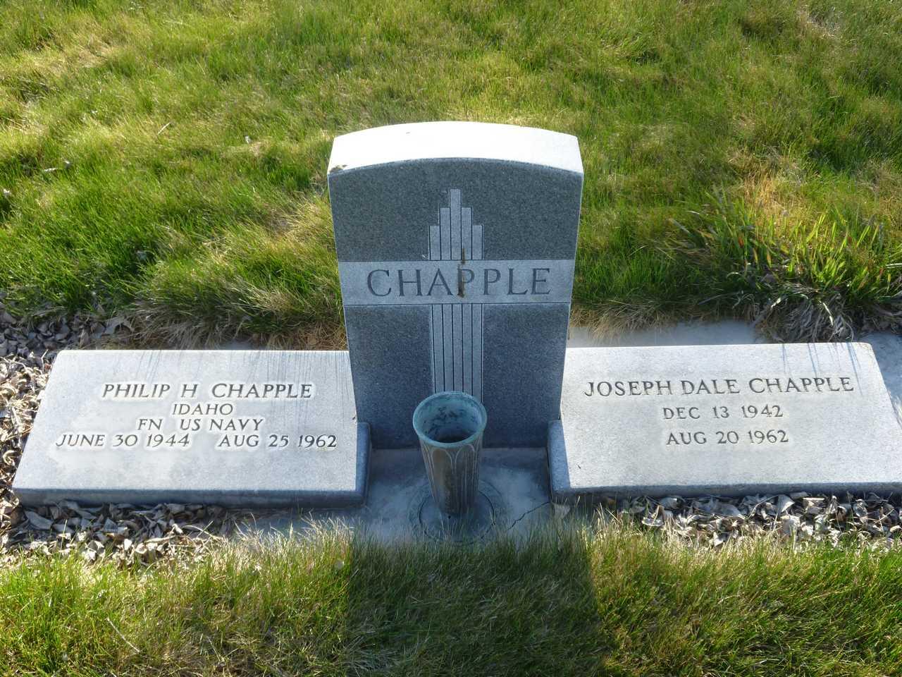 Joseph Dale Chapple, Jr