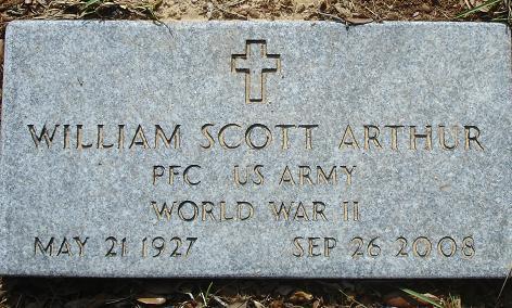William Scott Bill Arthur