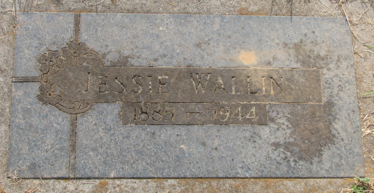 Jessie Adelaide <i>Oller</i> Wallin