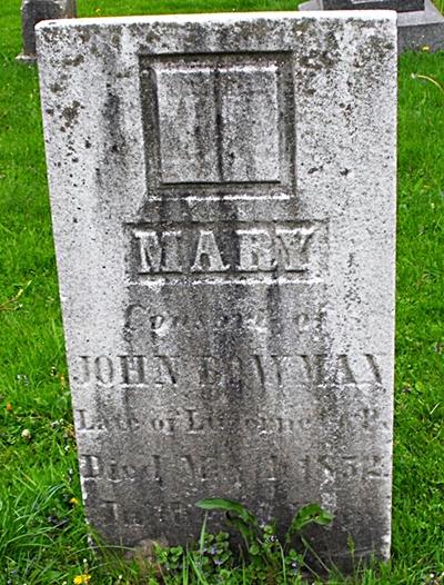 Mary <i>Brittain</i> Bowman