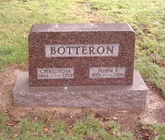 Christina <i>Miller</i> Botteron