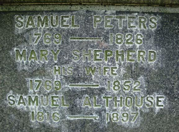 Mary <i>Shephard</i> Peters