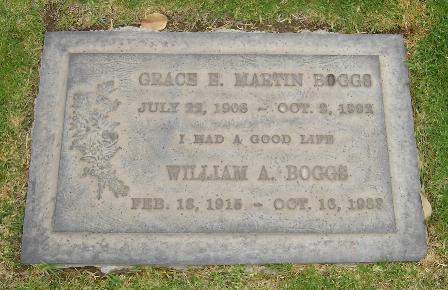 Grace Elsie <i>Martin</i> Boggs