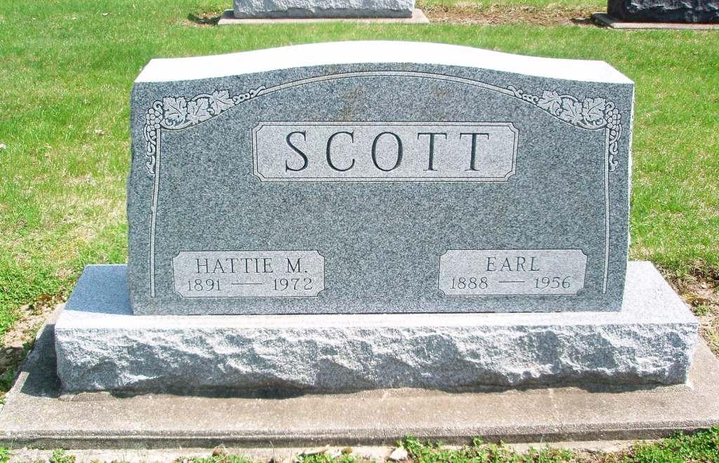 Hattie M <i>Schmalzried</i> Scott