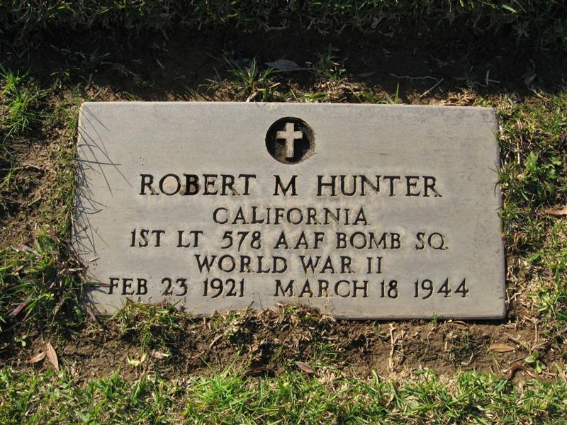 1LT Robert M Hunter