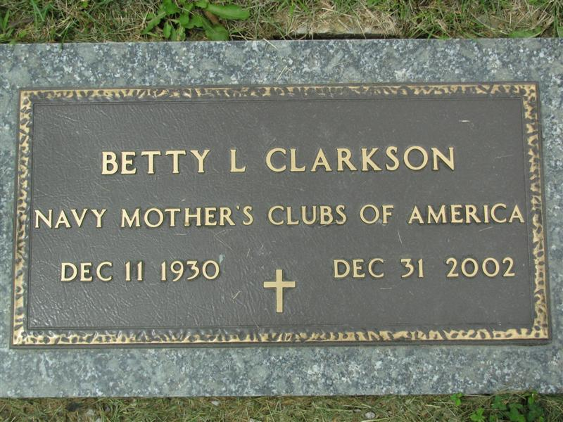 Betty L <i>Nelson</i> Clarkson