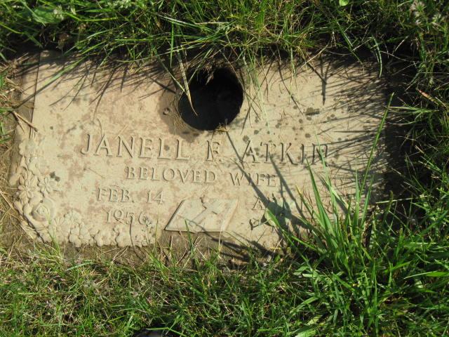 Janell Frances <i>Bentley</i> Atkins