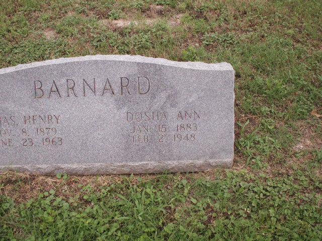 Dosha Ann <i>Bradshaw</i> Barnard