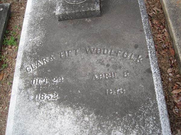Clara Jane <i>Tift</i> Woolfolk