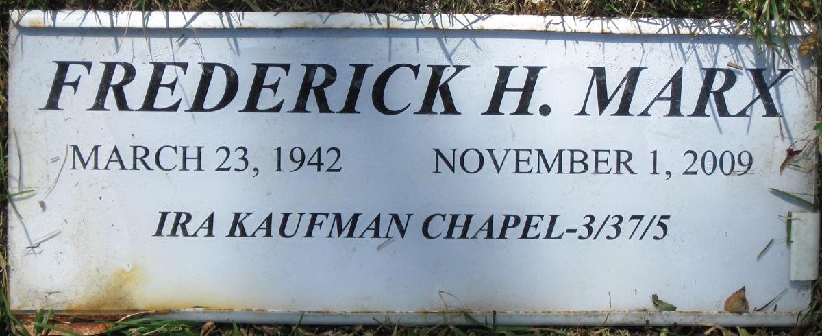 Frederick Henry Marx