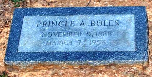 Pringle A. Boles