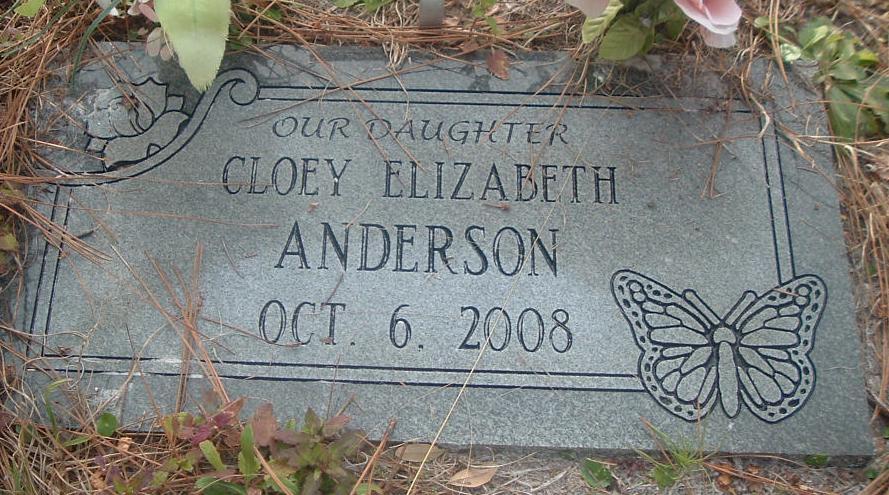 Cloey Elizabeth Anderson