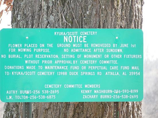 Kyuka Baptist Church Cemetery in Kyuka, Alabama - Find A Grave Cemetery