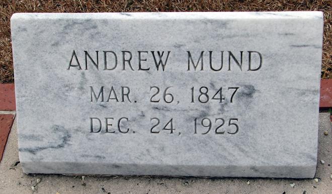 John Andrew Mund, Jr