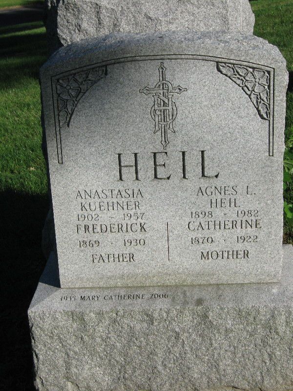Anastasia M <i>Heil</i> Kuehner
