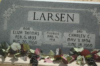 Eliza <i>Thomas</i> Larsen