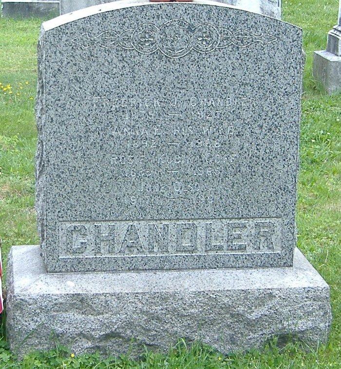 Anna E <i>Kubik</i> Chandler Houle