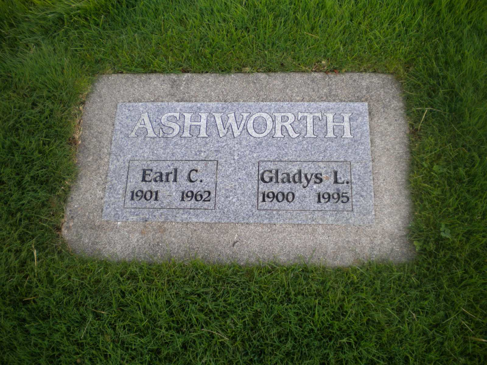 Earl Claude Ashworth
