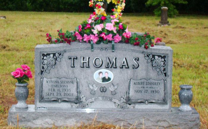 Wynona Suzanne MeMaw <i>Nelson</i> Thomas