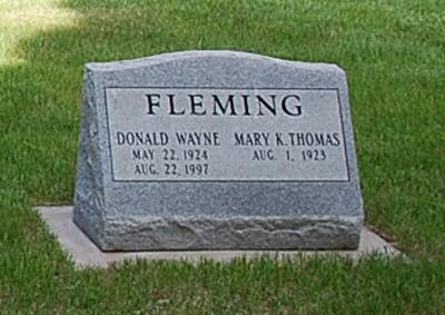 Donald Wayne Fleming