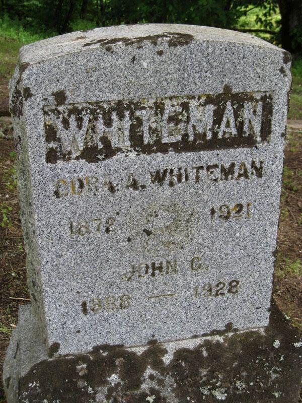 Cora Ann <i>Starr</i> Whiteman