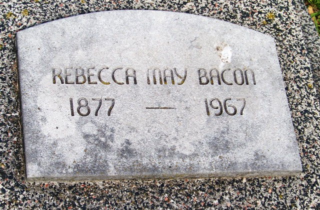 Rebecca May <i>Boren</i> Bacon