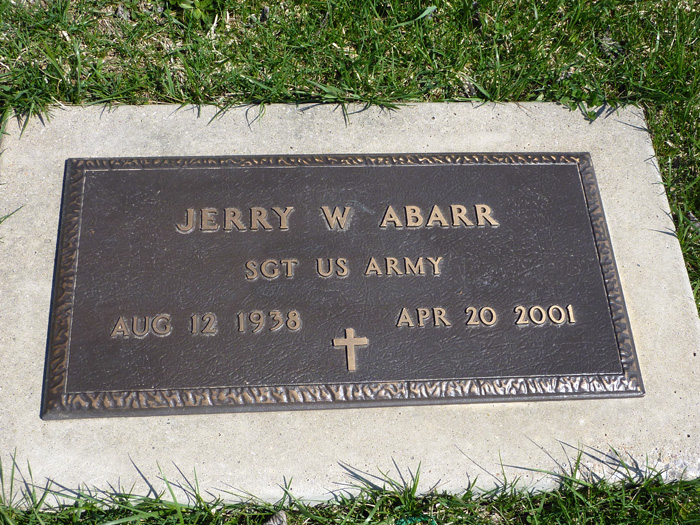 Jerry Wendell Abarr