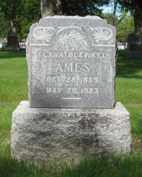 Clara <i>Jones Blewett</i> Ames