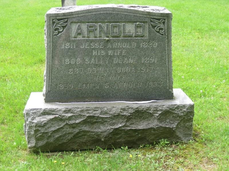 Emily Sybil <i>Arnold</i> Fonda