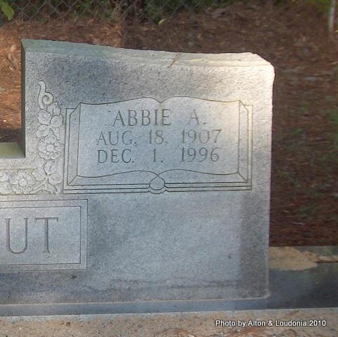 Abbie <i>Arnold</i> Bookout