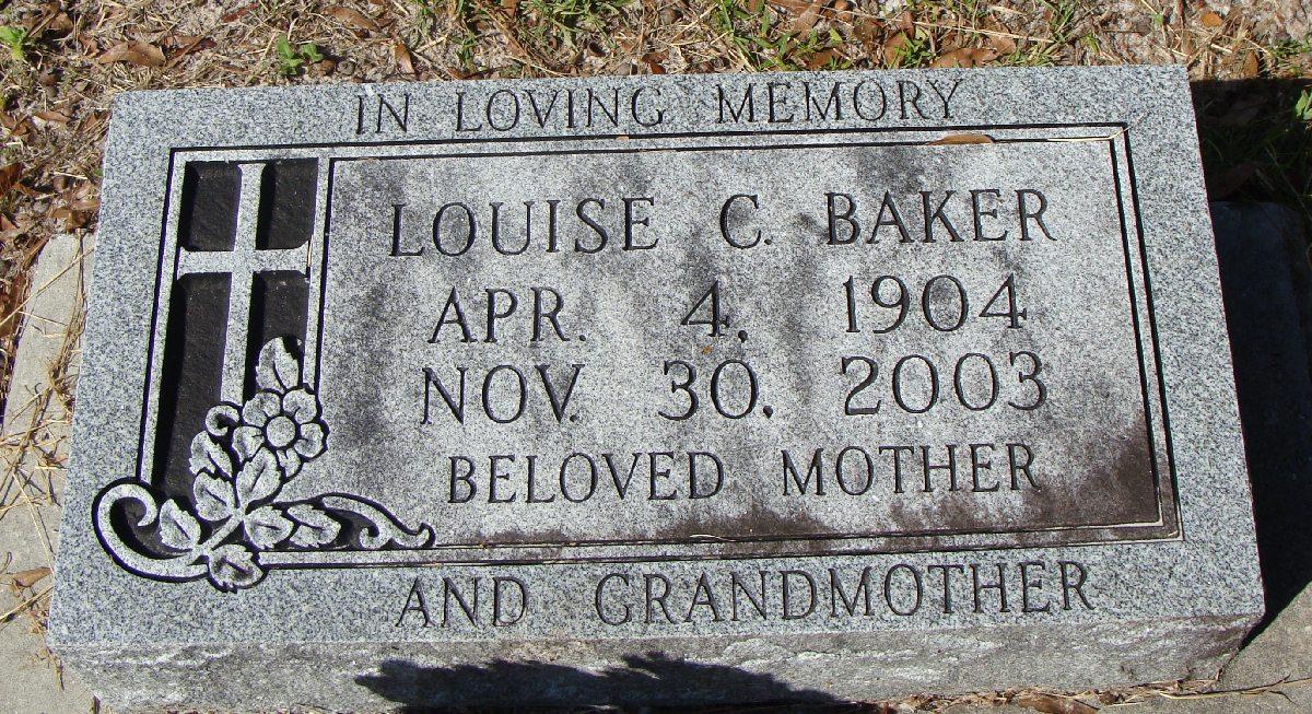 Louise Carenza <i>Carter</i> Baker
