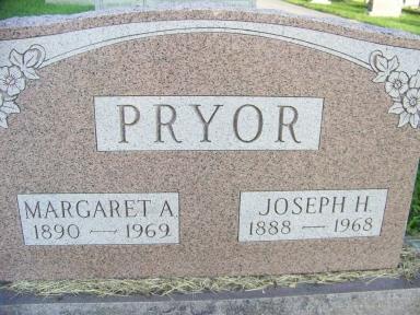 Margaret Anna <i>Fitz</i> Pryor