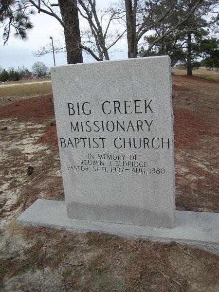 Big Creek Missionary Baptist Church Cemetery