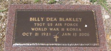 Billy Dea (Shorty) Blakley